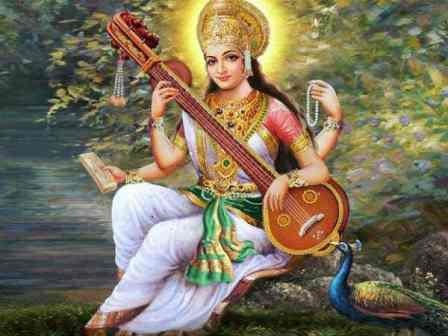 Saraswati, Vasant Panchami