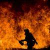 थाने मेें लगी भीषण आग ने उड़ाए पुलिसकर्मियों के होश