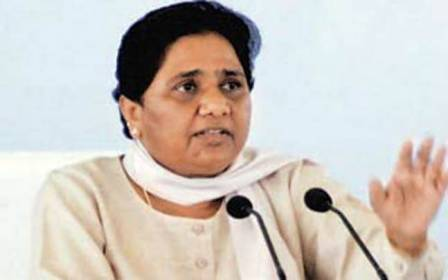 #Mayawati made major organizational changes in BSP