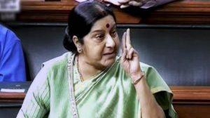 #SushmaSwaraj