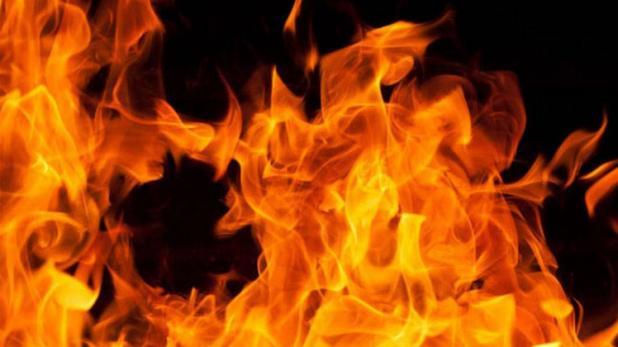 #SonbhadraNews: Scorpio burns in blaze in Markundi Old Valley