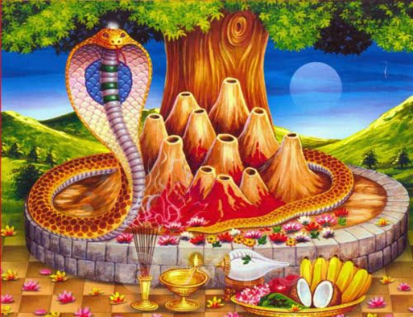 Learn when and why #NagPanchami is celebrated, worship like this