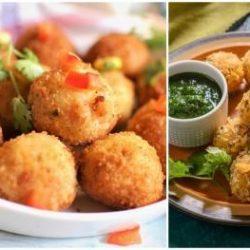 क्रिस्पी एंड स्पाइसी #PotatoSujiBalls