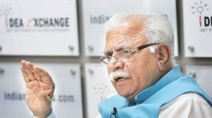 Chief Minister of Haryana, Mr. Manohar Lal