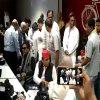 #सपा कार्यालय पहुंचे यशवंत और शत्रुघ्न सिन्हा, BJP पर जमकर….