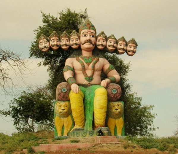 #Dussehra: Ravana is worshiped at these 7 places in India
