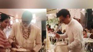 अंबानी की बेटी की शादी में आमिर और अमिताभ ने…