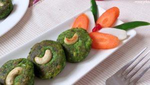 बनाना सीखिए शादी-पार्टी में परोसे जाने वाले हरे-भरे #कबाब