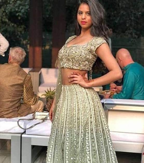 #SuhanaKhan's video again made headlines