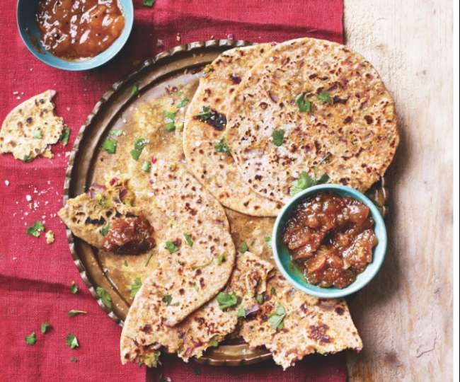 Make healthy roti with moong dal
