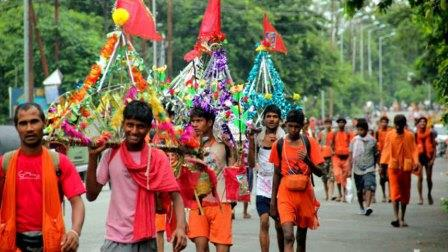 Now here # Banning of Kanwar Yatra, Shiva temple to remain closed till 4th August
