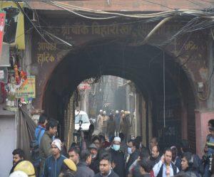 #BREAKING #Great fire in Delhi's grain market, 43 killed