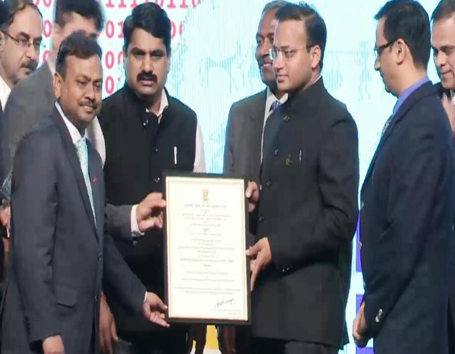 IFS Dr. Abdul Qayum conferred with eGovernance National Award