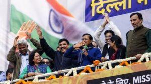 #CMArvindKejriwal thanks #Delhi, will work together