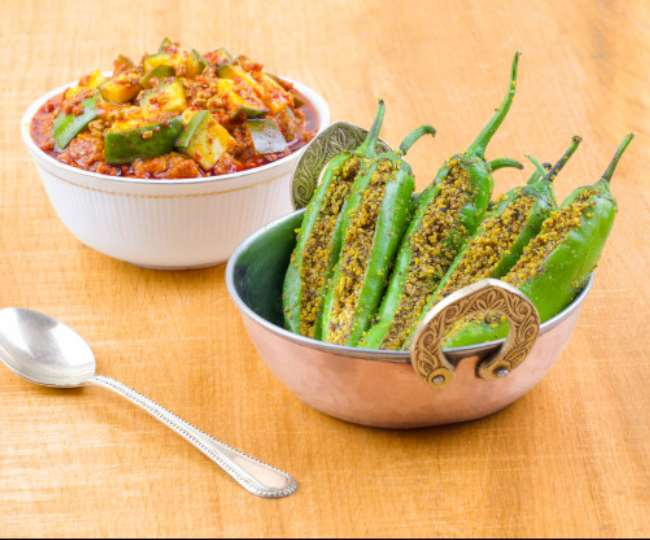 Make 'Instant Pickle of Green Chilli'