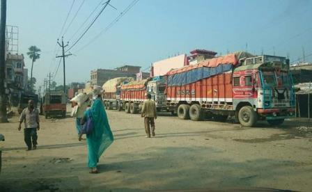Business worth crores stalled due to seal of Indo-Nepal border