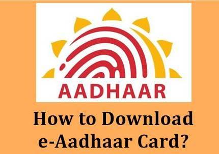 Downloading e-Aadhaar is now very easy, learn ....