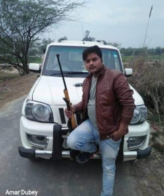 #BREAKING: Police Encounter of Criminal Development Dubey's Right Hand Amar Dubey