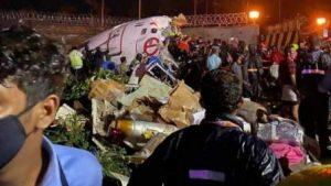 #BREAKING: 17 people dead, including pilot, broken plane in two parts