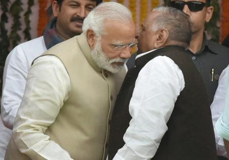 BJP breaks SP's three-decade political domination