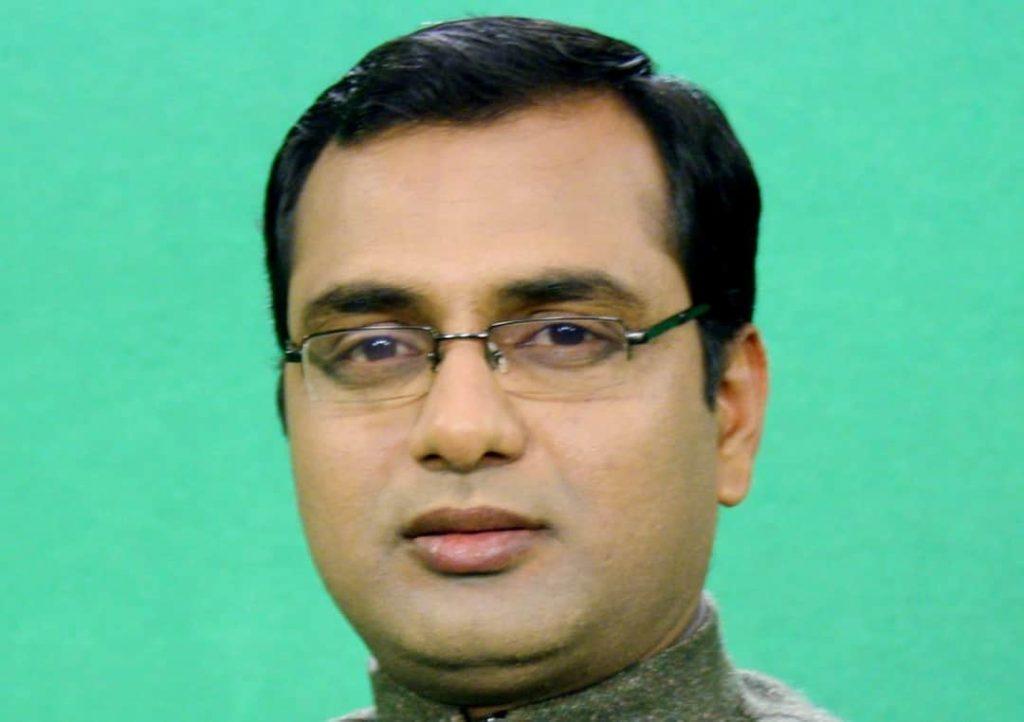 Journalist Asith Tath Tiwari named #Congress spokesperson of Bihar