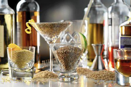 Country liquor can also be made from grains in the state