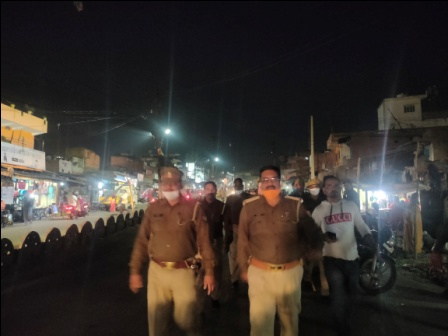 #Sonbhadra: Wake administration after accidents, removal of encroachment from the highway