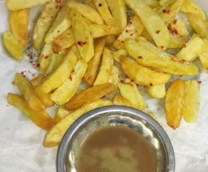 #FOOD: Easy Method to Make Crispy French Fries at Home
