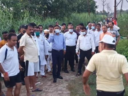 #GorakhpurNews : People upset due to flood problem
